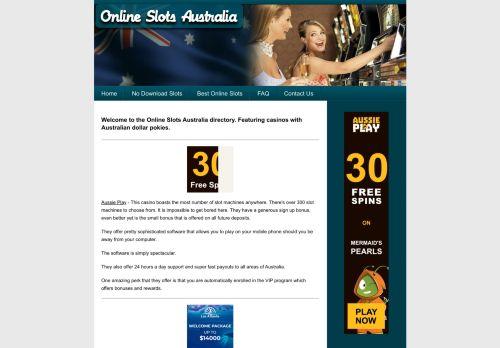 OnlineSlotsAustralia.com