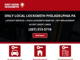 Only Local Locksmith: Locksmith Philadelphia