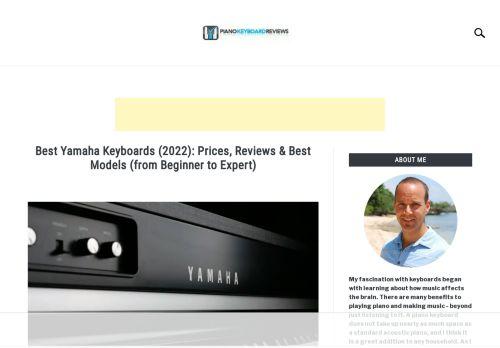 Piano Keyboards Reviews: Yamaha Keyboards
