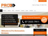 Pro Removalists in Brisbane Australia