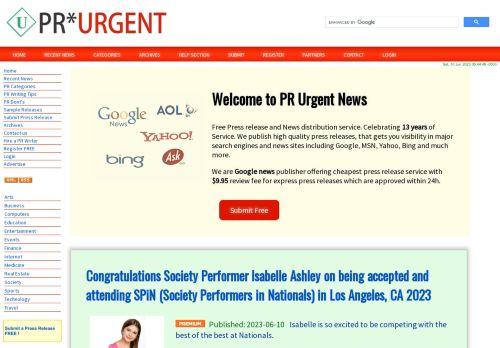 PR Urgent News