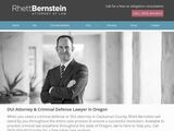 Rhett L. Bernstein, Attorney at Law | DUI and Criminal defense attorney in Oregon City OR