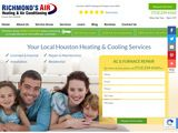Richmond's Air | Heating & Air Conditioning Services in Houston TX