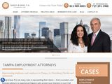 Saady & Saxe, P.A. | Employment and Business Law Attorneys in Tampa FL