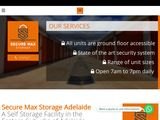 Secure Max Storage in Adelaide Australia