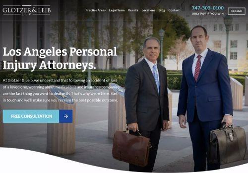 Joshua W. Glotzer, APC | Personal Injury lawyer in Los Angeles CA