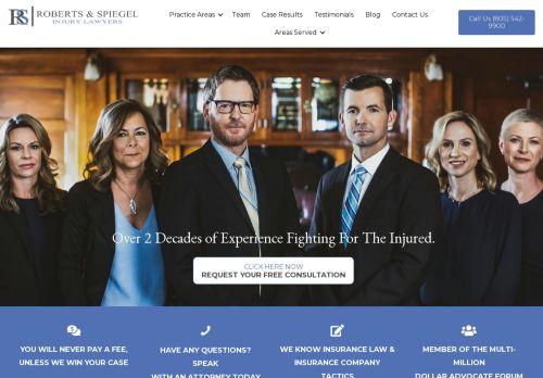 Steven P. Roberts   Personal Injury Lawyers in San Luis Obispo & Fresno CA