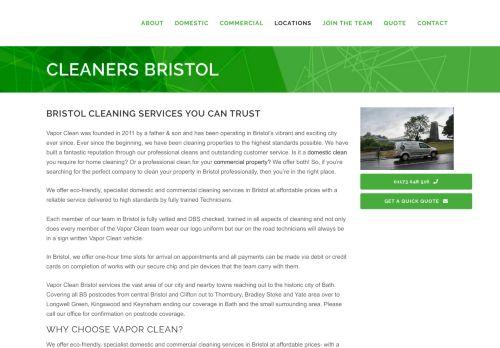 Vapor Clean Bristol