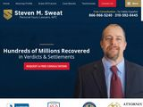 Steven M. Sweat, APC | Accident and Injury Law Firm in Los Angeles CA