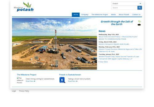 Western Potash Corp.