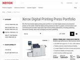 Xerox Corporation: Production Printers
