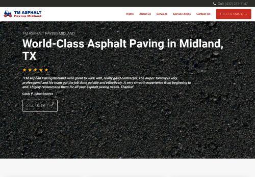 Midland Asphalt Paving | Paving Contractors in Midland TX