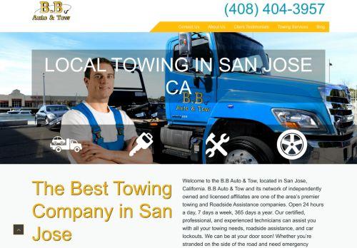 B.B Auto & Tow in San Jose
