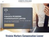 Corey Pollard Law | Worker Compensation Attorney in Virginia