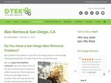 D-Tek Live Bee Removal in San Diego CA