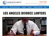 Charles M. Green, APLC | Best Los Angeles Divorce Attorney