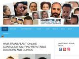 Hairforlife-international.com - Consultation for Hair Transplant