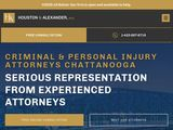 Houston & Alexander, PLLC | Creminal defence and personal injury lawyers in Chattanooga TN