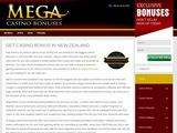 Mega Casino Bonuses NZ