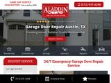Aladdin Doors of Austin