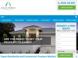 Aqua Fresh Cleaning Services | House Washing in Brisbane  Australia