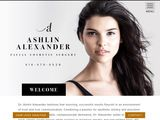 Dr. Ashlin Alexander | Facial Plastic Surgery in Toronto ON