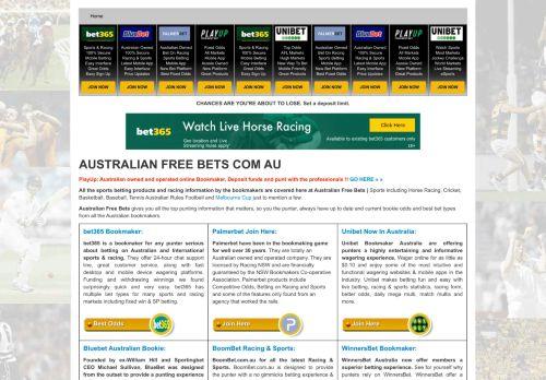 Australian Bonus Bets