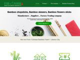 Rijia Bamboo Products | Cheap Bamboo chopsticks, skewers, flowers sticks