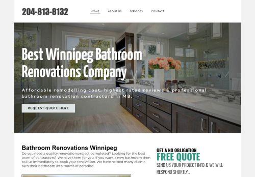 Bathroom Renovations in Winnipeg MB