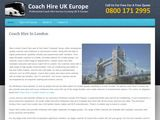 Best London Coach Hire