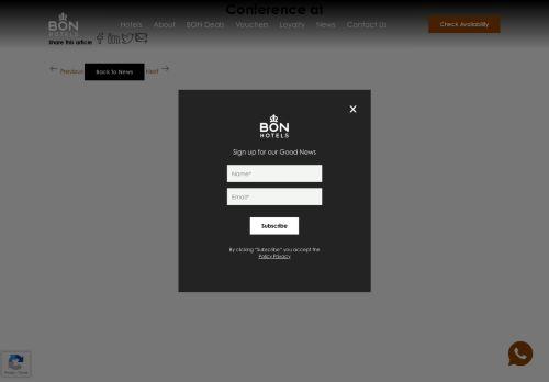 Bon Hotels Swakopmund | Conferences