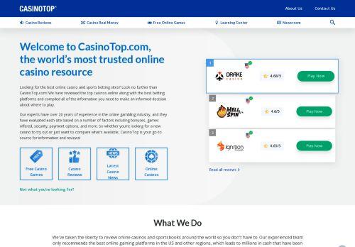 Online casino canada - CasinoTop.com