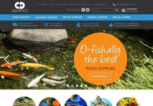 C.D. Aquatics | Aquarium Supplies
