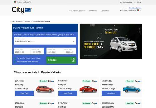 Puerto Vallarta Car Rental at the Best Price | Rent a Car in Puerto Vallarta