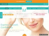 Morrissette Facial Cosmetic Surgeon in Santa Barbara CA