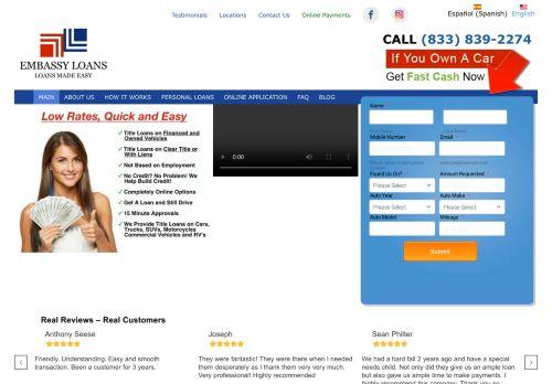 Embassy Title Loans