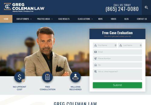 Greg Coleman Law