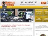 Hercules Towing | 24hr Towing & Roadside Help in El Cajon CA