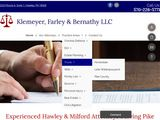 Klemeyer, Farley & Bernathy LLC | Civil practice attorneys in Hawley PA