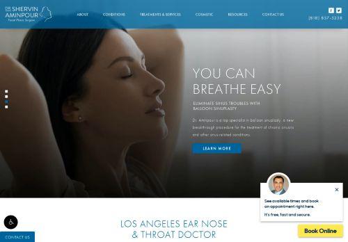 Dr. Aminpour | ENT in Los Angeles CA