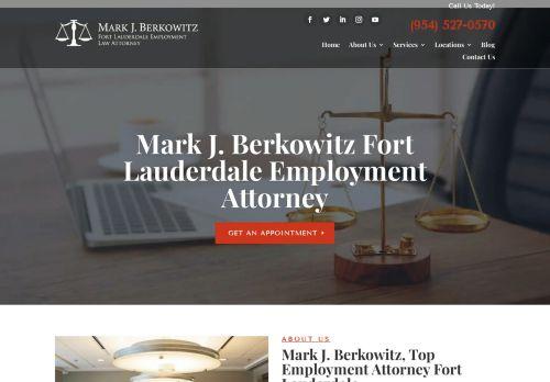 Mark J. Berkowitz, P.A. | Employment Law Attorney in Fort Lauderdale FL
