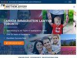 Canada Immigration Lawyer | Matthew Jeffery Law Firm