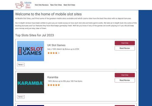 Mobileslotsites.com