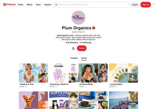 Plum Organics Pinterest