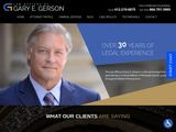 Law Offices of Gary E. Gerson | Criminal defense lawyers in Pittsburgh PA