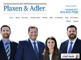 Plaxen & Adler, P.A. | Personal Injury Law Firm in Baltimore MD