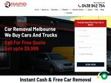 Rapid Car Removal in Melbourne Australia