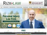 Rizk Law | Oregon Injury Lawyers