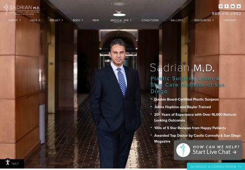 Dr. Reza Sadrian | La Jolla Plastic Surgeon