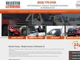 Selected Towing | Reliable towing services in Richmond, CA